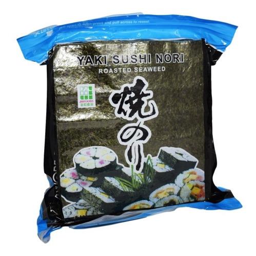 Algas Nori Sushi Ysn 100 Laminas Tostadas Importadas