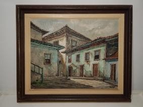 Pintura De Regina Veiga 48x38cm