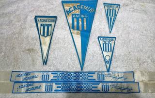 Coleccion Vinchas Banderines Racing Club Rac 04a