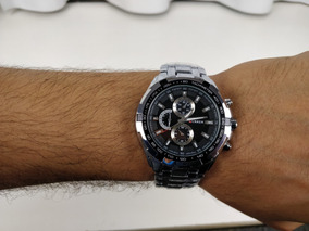 Relógio Curren 8023 Aço Inoxidável Prata Semi Novo