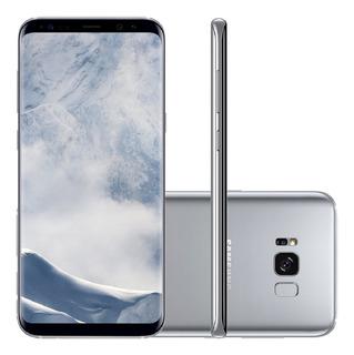 Samsung Galaxy S8 Plus G955f 128gb 12mp Prata Mancha Tela
