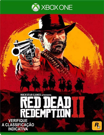 Red Dead Redemption 2 Xbox One Mídia Física Nacional Br