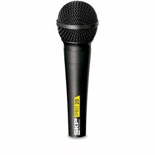 Microfono De Mano Skp Pro20 Dinamico Vocal C/cable Xlr Plug