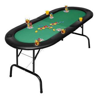 Mesa De Póquer Para 8 Jugadores Plegable Para Casino Giantex