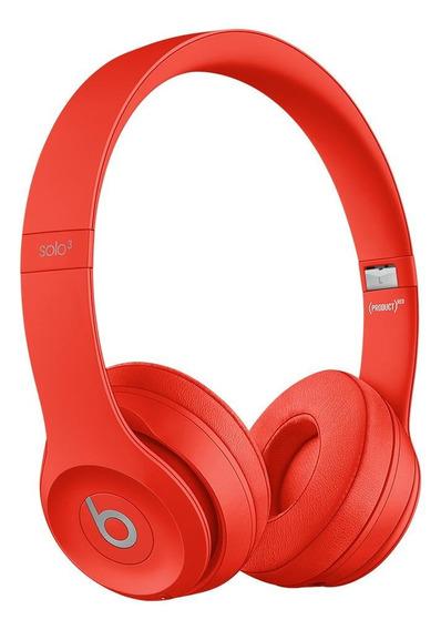 Fone de ouvido sem fio Beats Solo³ Wireless citrus red