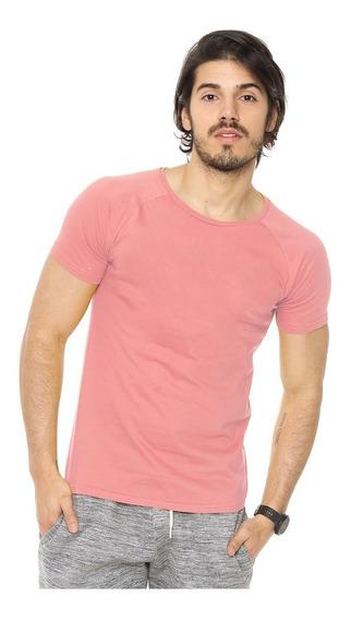 Envio Gratis Remera Lisa 100% Algodon Slim Fit Varios Colore
