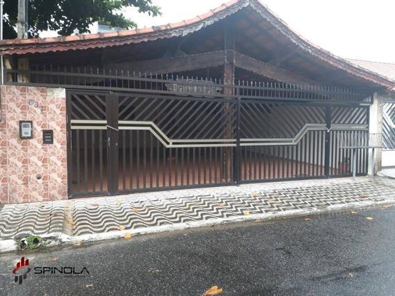 Casa Com 1 Dormitório À Venda, 58 M² Por R$ 160.000 - Jardim Real - Praia Grande/sp - Ca1474