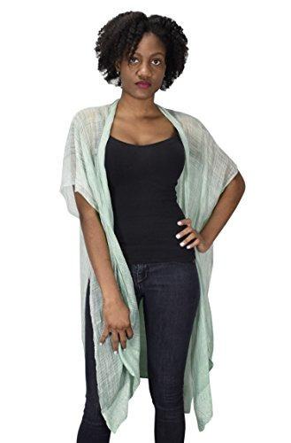 Melocoton De Alta Costura Kimono Tipo Tunica Transparente Co