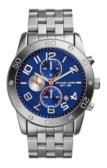 Relógio Michael Kors Mk8348 Chron Aço Inoxi