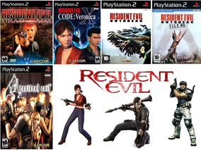 Resident Evil Collection - Playstation 2