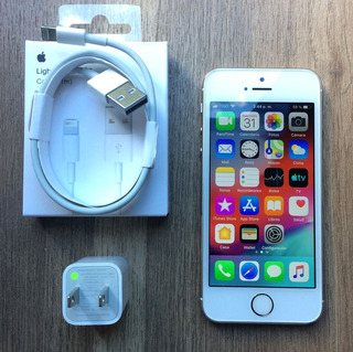 iPhone 5s De 64gb Gold Libre De Regalo Cargador Buen Estado