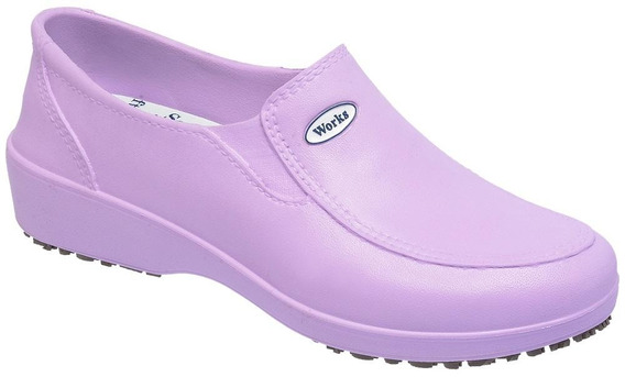 Sapato Profissional Lady Works Calçado Eva Soft Works Bb95