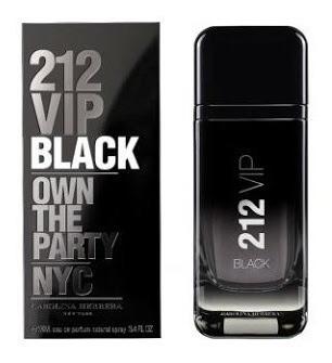 212 Vip Black Men Carolina Herrera - Eau De Parfum 100ml