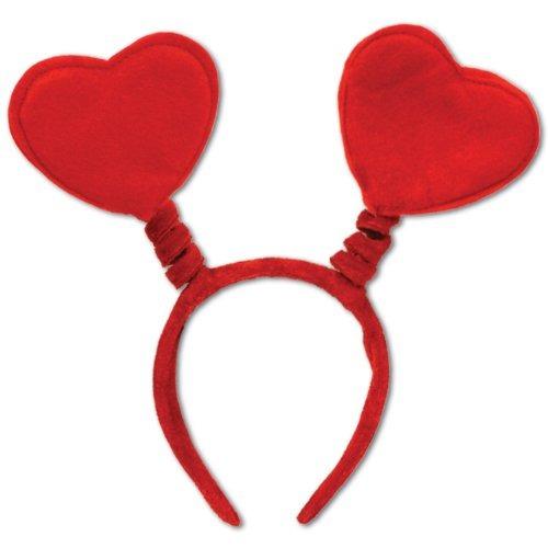Accesorio Para Fiesta Heart Boppers (1 Conteo) (1 /pkg)