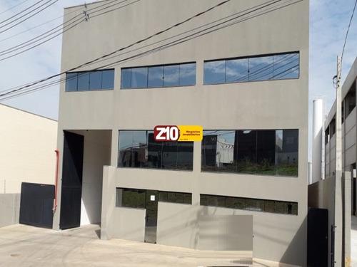 Gl00416 - Centro Empresarial Indaiatuba/sp - Locação R$ 17.400,00 -  At 1.150,00m² Ac 1.088,43m² Área Fabril 642,42m²/pé Direito 9m- Z10 Imóveis. - Gl00416 - 68235622