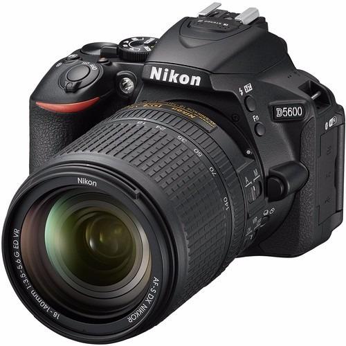 Imagem 1 de 6 de Câmera Nikon D5600 Dslr C/ Lente 18-140mm 24.2mp 12x S/juros
