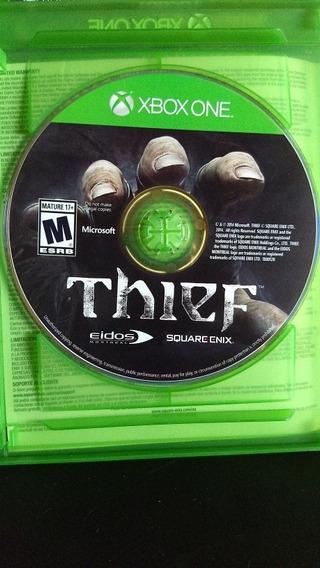 Jogo Xbox One Thief Envio Carta Registrada 1e Reais