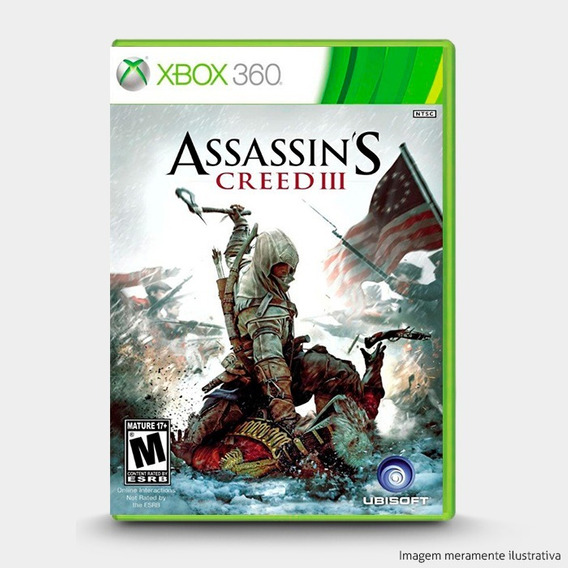 Assassins Creed 3 Original Lacrado P/ Xbox 360