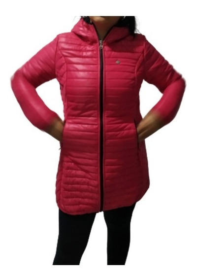 Campera Inflable Mujer Impermeable Calidad Garantizada
