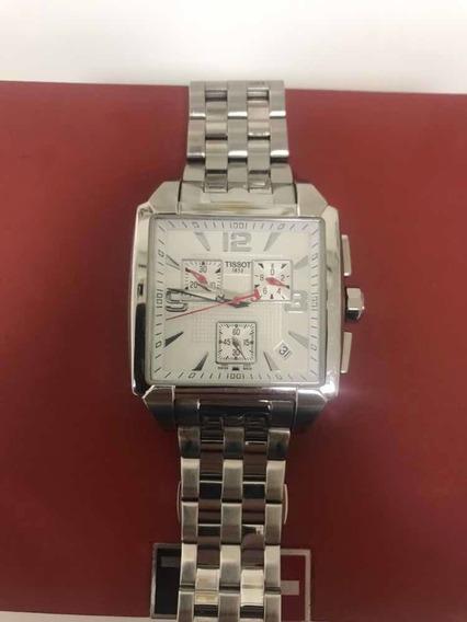 Relógio Tissot Crono Quadrado T005.517-a - Original