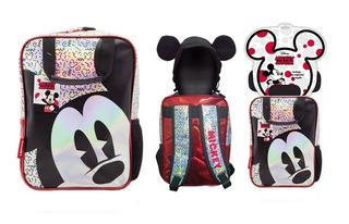 Mochila Infantil Escolar Espalda Jardin Disney Mickey Km738