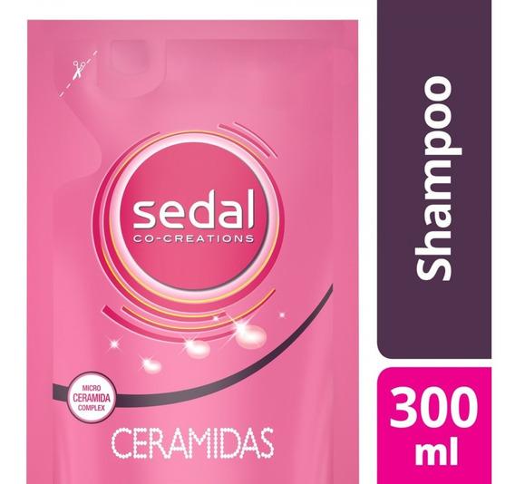 Sedal Ceramidas Repuesto 300ml Fuerza Shampoo / Acondicionad