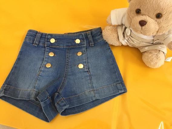 Shorts Jeans Menina