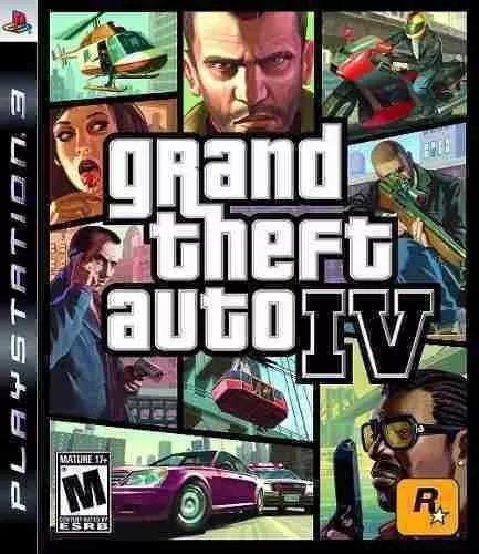 Ps3 - Grand Theft Auto Iv - Original