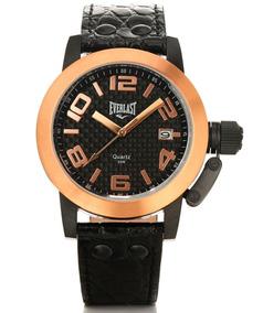Relógio Pulso Everlast Analógico E130 Masculino Preto