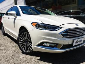 Ford Fusion 2.0 Ecoboost Titanium Awd 2017 - Branco