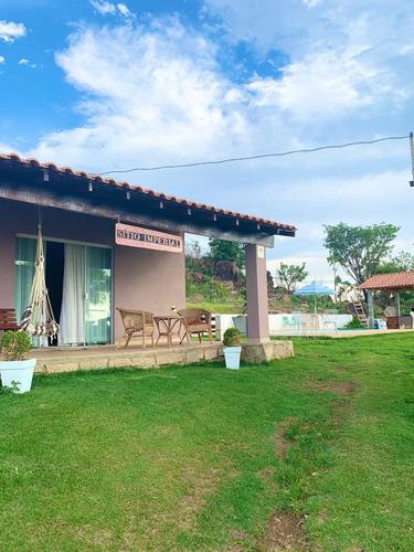 Imagem 1 de 13 de Chácara 28000m2, Casa Sede Simples, Piscina, Churrasqueira, Playground, Área Verde - Ch00112 - 69749882