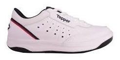 Bom Dia Zapatillas Topper X-forcer Cuero Hombre Y Mujer