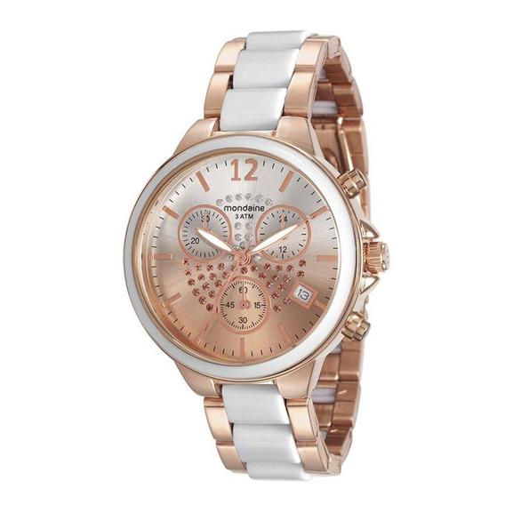 Relógio Feminino Mondaine Cronógrafo 76688lpmvre2