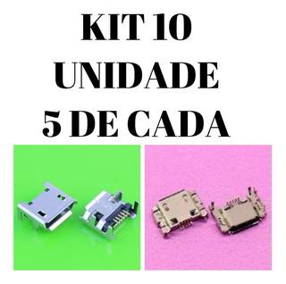 Conector De Carga Usb Tablet Multilaser M7s 2 Modelo 10unid.