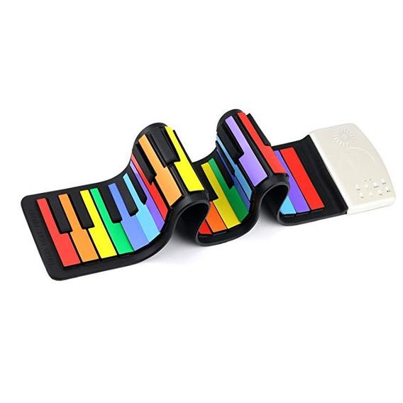 Coondmart Coondmart Color Del Arco Iris 49 Teclas Estándar F