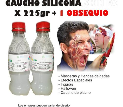 Caucho Silicona Liquido Moldes Fx 225g Heridas Rostro