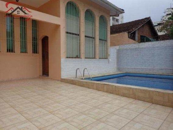 Casa Térrea (lado Praia), Enseada - V594
