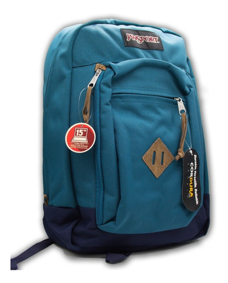 Mochila Jansport Reilly Porta Notebook. Bag Center Cuotas