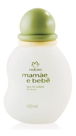Perfume Infantil Mamãe Bebê Natura 100ml Sem Álcool Original