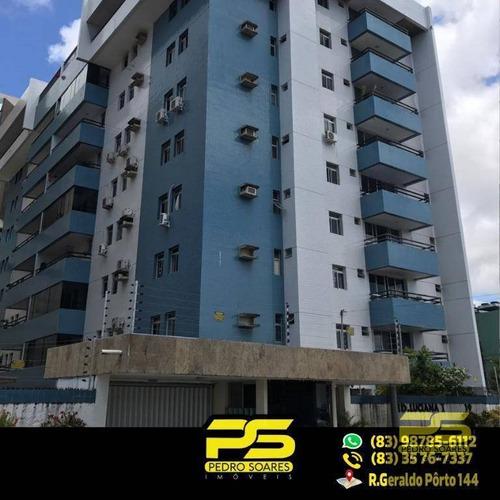 ( Oferta ) Apartamento Com 3 Quartos 1 Suíte No Bessa - Ap1634