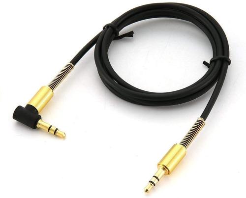 Imagen 1 de 2 de Cable Audio Auxiliar 3.5 Mm Estéreo Ficha L Resort