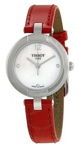 Relógio Tissot Feminino T-trend Pinky Madre-pérola Vermelho