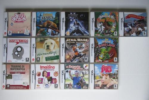 Lote X13 Juegos Originales Para Nintendo Ds