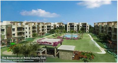 Apartamento En Venta De 1hab Y 1.5baños En Juan Dolio