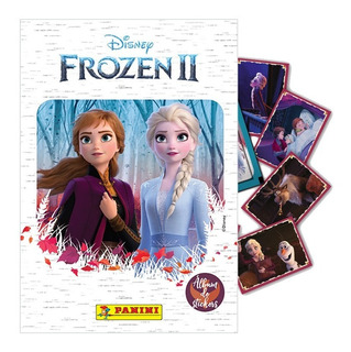 Lote X 75 Figuritas Sin Repetidas + Álbum Frozen 2 Panini