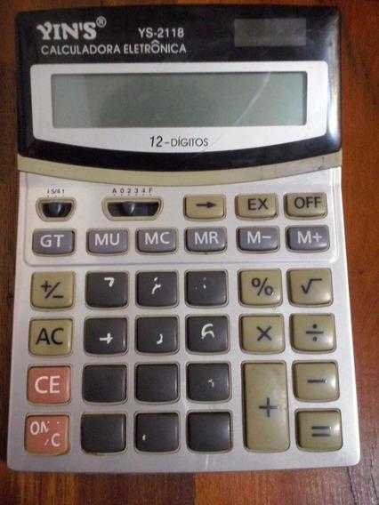 Calculadora Eletrônca Yins Ys-2118