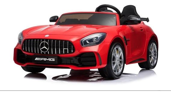 Auto A Bateria Mercedes Benz Amg Rojo R/control High Quality