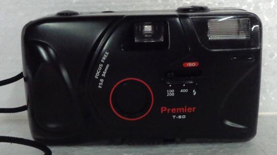Camera Fotográfica Premier T-50 Não Funciona Ótimo Estado