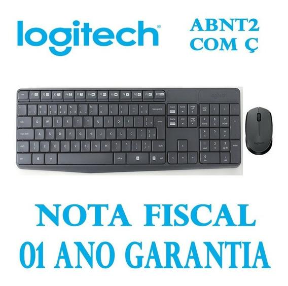 Teclado E Mouse Wireless Logitech Mk235 Microsoft Windows