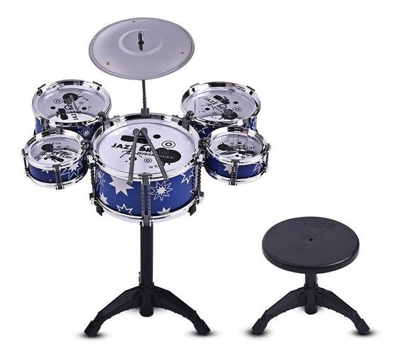 Niños Niños Jazz Drum Set Equipo Musical Educativo